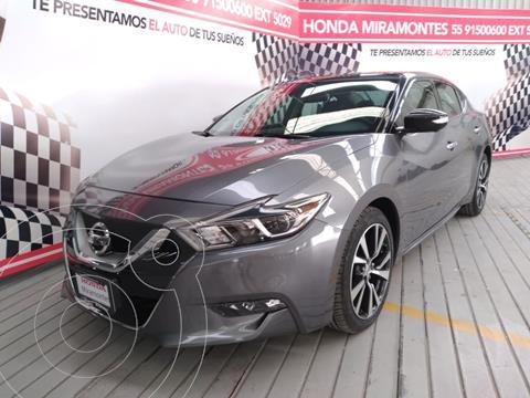 Nissan Maxima 3.5 Exclusive usado (2016) color Gris financiado en mensualidades(enganche $80,750 mensualidades desde $7,508)