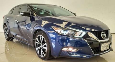Nissan Maxima 3.5 Exclusive usado (2018) color Azul financiado en mensualidades(enganche $96,482 mensualidades desde $12,250)