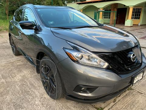 Nissan Murano Exclusive Midnight Edition AWD usado (2019) color Gris Oxford precio $475,000
