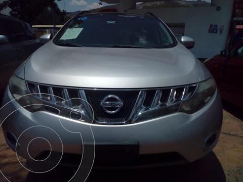 Nissan Murano 5P LE AWD AUT A/A Q/C PIEL 4X4 CVT usado (2010) color Plata precio $170,000