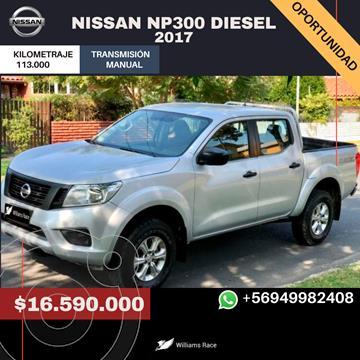 Nissan Navara NP300 2.3L SE 4x4 D/C usado (2017) color Gris Metalico precio $16.590.000