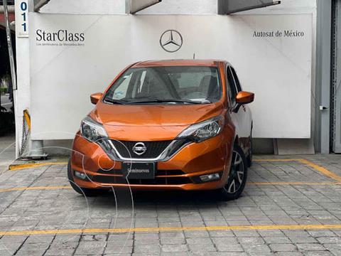 Nissan Note SR Aut usado (2017) color Naranja precio $198,000