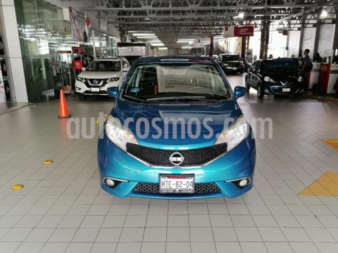 Nissan Note 5P SR CVT A/AC. F. NIEBLA GPS FALDON RA-16 usado (2015) color Azul precio $159,900