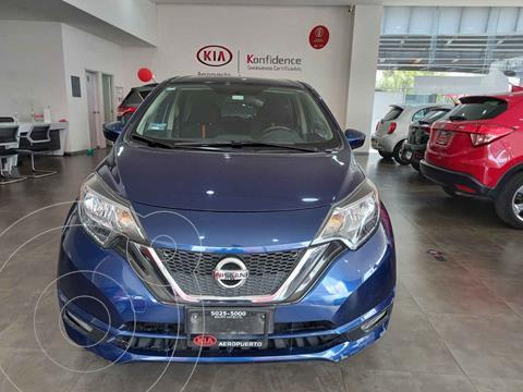 Nissan Note SR Aut usado (2017) color Azul precio $189,000