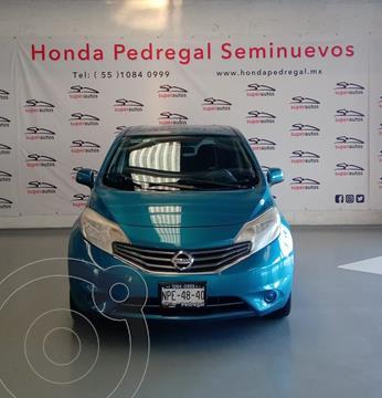Nissan Note Sense Aut usado (2014) color Azul precio $129,000
