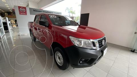 Nissan NP300 Doble Cabina SE A/A Paq. de Seg. usado (2020) color Rojo precio $435,000