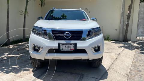 Nissan NP300 Frontier LE Diesel 4x4 A/A Aut usado (2020) color Blanco precio $620,000