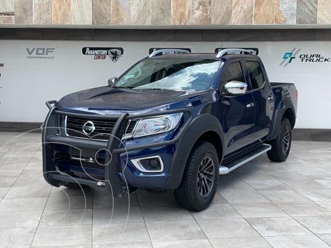 Nissan NP300 Frontier LE A/A usado (2020) color Azul Marino precio $485,000