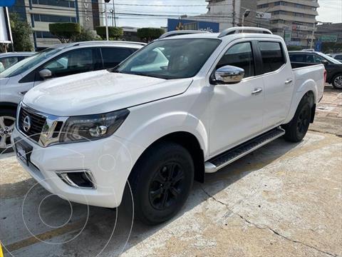 Nissan NP300 Frontier PLATINUM LE TM AC 6 VEL 20 usado (2020) color Blanco precio $539,000