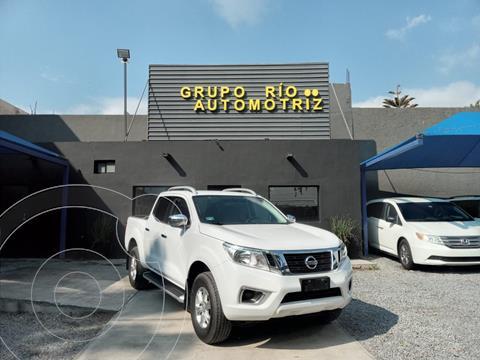 Nissan NP300 Frontier LE A/A usado (2019) color Blanco precio $393,000