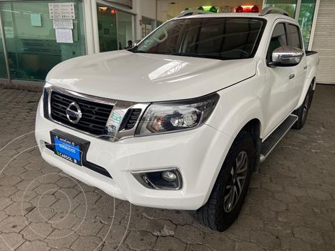Nissan NP300 Frontier LE Diesel 4x4 A/A Aut usado (2020) color Blanco precio $579,000