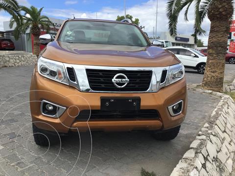 Nissan NP300 Frontier LE Diesel 4x4 A/A Aut usado (2017) color Naranja precio $450,000