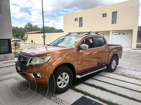 Nissan NP300 Frontier LE A/A usado (2018) color Naranja precio $380,000