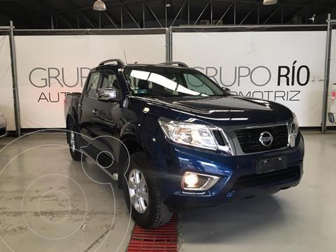 Nissan NP300 Frontier LE A/A usado (2017) color Azul precio $297,000