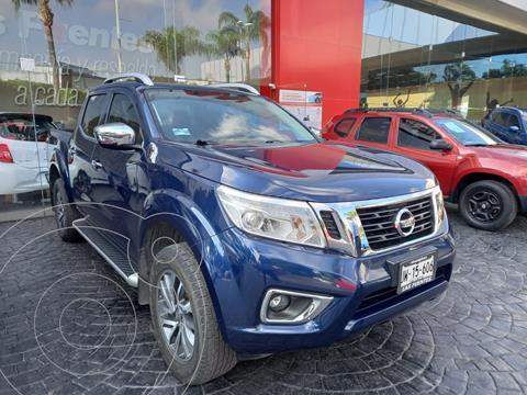 Nissan NP300 Frontier LE Diesel 4x4 A/A Aut usado (2019) color Azul precio $580,000