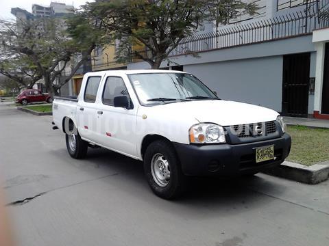 Nissan NP300 Frontier 4x2 Doble Cabina 2.7 Diesel usado (2009) color Blanco precio $9,300