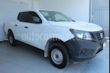Foto venta Auto usado Nissan NP300 2.4L Doble Cabina Tipica (2017) color Blanco precio $258,000