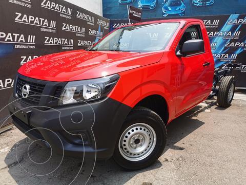 Nissan NP300 2.5L Chasis Cabina Dh A/A Paquete de Seguridad+VDC usado (2020) color Rojo precio $345,000