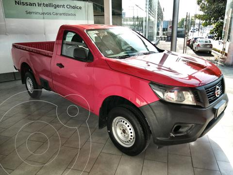 Nissan NP300 Pick up  usado (2020) color Rojo financiado en mensualidades(enganche $76,040 mensualidades desde $10,819)