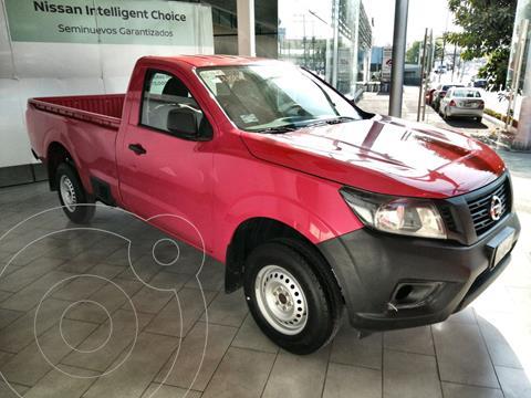 Nissan NP300 2.5L Pick-up Dh A/A Paquete de Seguridad usado (2020) color Rojo precio $344,600