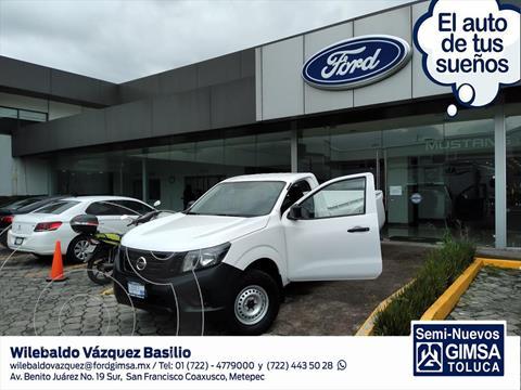 Nissan NP300 PICK UP T/M DH AC PAQ SEG 6 VEL 20 usado (2020) color Blanco precio $330,000
