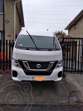 Nissan NV350 2.5L Pasajeros Confort usado (2019) color Blanco precio $23.500.000