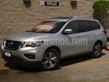 Foto venta Auto usado Nissan Pathfinder 5p Advance V6/3.5 Aut (2017) color Plata precio $440,000