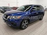 Foto venta Auto usado Nissan Pathfinder 5p Exclusive V6/3.5 Aut (2018) color Azul precio $585,000