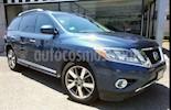 Foto venta Auto usado Nissan Pathfinder 5p Exclusive V6/3.5 Aut (2014) color Azul precio $270,000