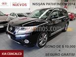 Foto venta Auto usado Nissan Pathfinder 5p Exclusive V6/3.5 Aut (2014) color Negro precio $299,000