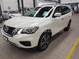 Foto venta Auto usado Nissan Pathfinder 5p Exclusive V6/3.5 Aut (2018) color Blanco precio $595,000