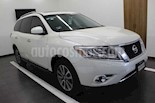 Foto venta Auto usado Nissan Pathfinder Advance (2016) color Blanco precio $339,000