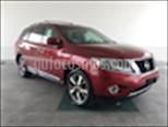 Foto venta Auto usado Nissan Pathfinder Exclusive 4x4 (2016) color Rojo precio $410,000