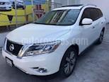Foto venta Auto usado Nissan Pathfinder Exclusive color Blanco precio $345,000