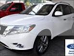 Foto venta Auto usado Nissan Pathfinder Exclusive (2014) color Blanco precio $295,000