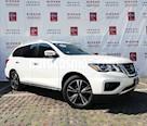 Foto venta Auto usado Nissan Pathfinder Exclusive (2017) color Blanco precio $510,000