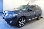 Foto venta Auto usado Nissan Pathfinder Exclusive (2015) color Azul precio $359,000