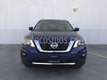 Foto venta Auto usado Nissan Pathfinder Exclusive (2017) color Azul precio $510,000