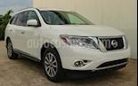 Foto venta Auto Seminuevo Nissan Pathfinder LE 3.5L 4x4 Aut Piel  (2014) color Blanco precio $194,800
