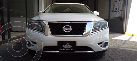 Nissan Pathfinder Exclusive usado (2014) color Blanco precio $269,000