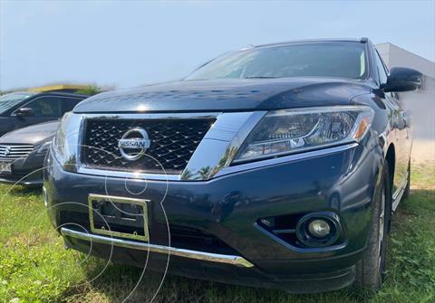 Nissan Pathfinder NP EXCLUSIVE usado (2014) color Azul precio $240,000