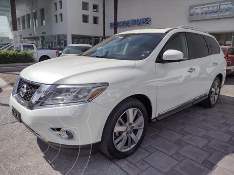 foto Nissan Pathfinder Exclusive usado (2016) color Blanco precio $364,000