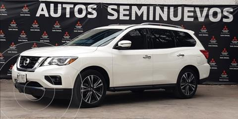 Nissan Pathfinder Exclusive usado (2018) color Blanco precio $490,000