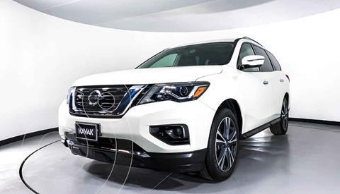 Nissan Pathfinder Exclusive usado (2018) color Blanco precio $477,999