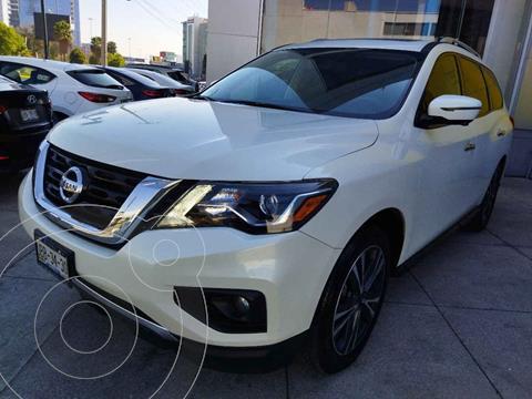 Nissan Pathfinder Advance usado (2017) color Blanco precio $387,000