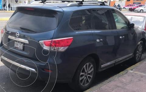 Nissan Pathfinder Advance usado (2014) color Azul precio $220,000