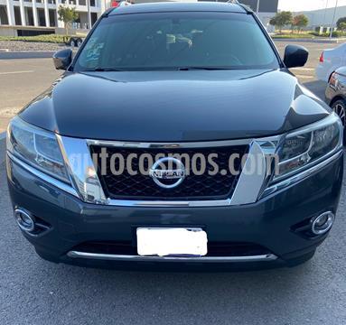 Nissan Pathfinder Exclusive 4x4 usado (2013) color Gris Oscuro precio $220,000