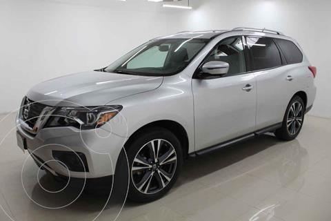 Nissan Pathfinder Sense usado (2017) color Plata precio $435,000
