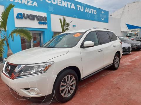 Nissan Pathfinder Sense usado (2016) color Blanco precio $325,000