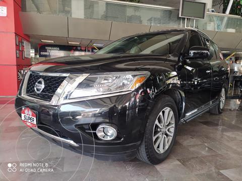 Nissan Pathfinder Advance usado (2015) color Negro precio $275,965